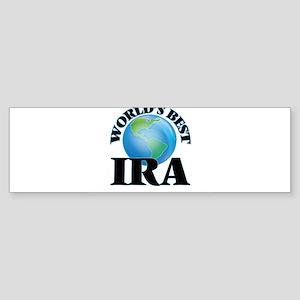 World's Best Ira Bumper Sticker
