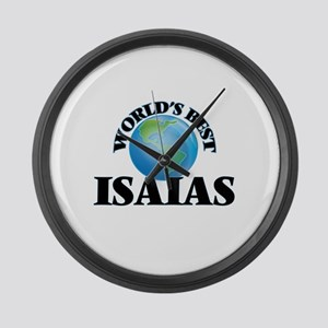 World's Best Isaias Large Wall Clock