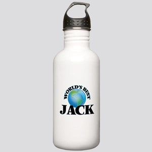 World's Best Jack Stainless Water Bottle 1.0L