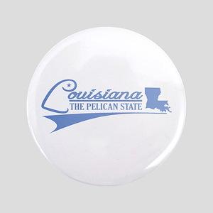 "Louisiana State of Mine 3.5"" Button"