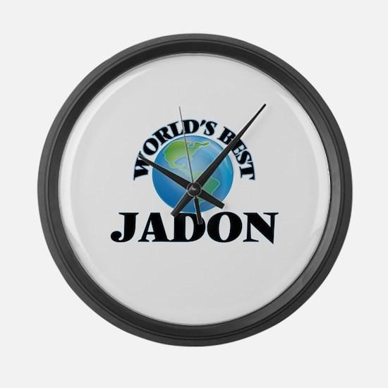 World's Best Jadon Large Wall Clock