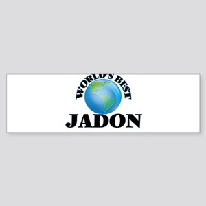 World's Best Jadon Bumper Sticker