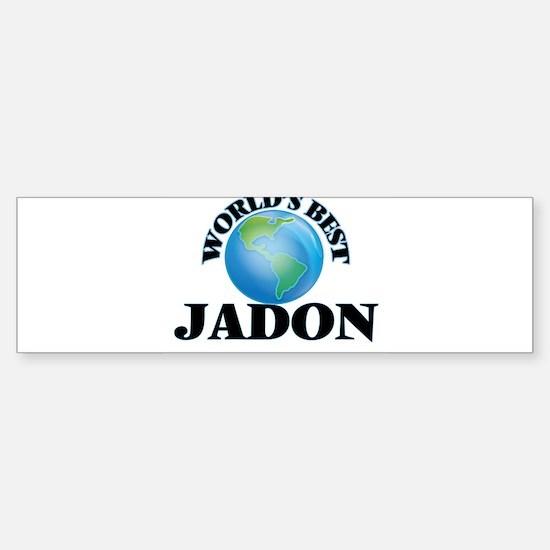 World's Best Jadon Bumper Bumper Bumper Sticker