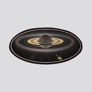Saturn Silhouette Patch