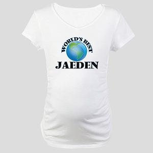 World's Best Jaeden Maternity T-Shirt