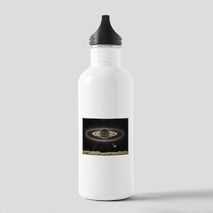 Saturn Silhouette Water Bottle