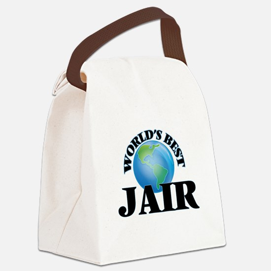 World's Best Jair Canvas Lunch Bag