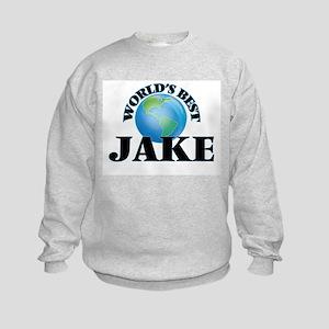 World's Best Jake Kids Sweatshirt