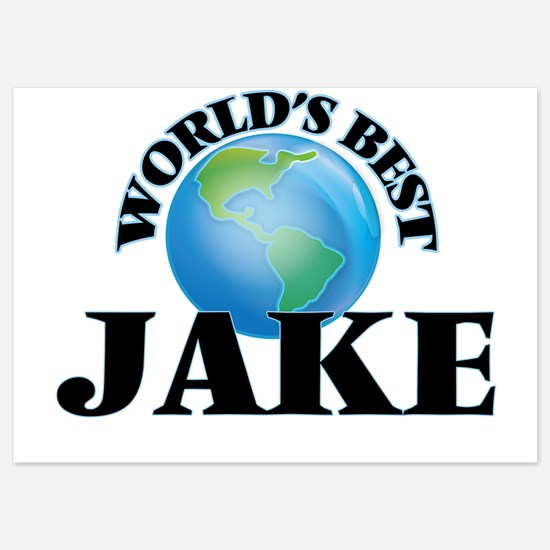 World's Best Jake Invitations