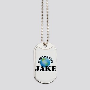World's Best Jake Dog Tags