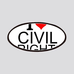 I Love Civil Rights Patch