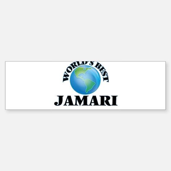 World's Best Jamari Bumper Bumper Bumper Sticker