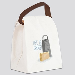 Life is Grate Canvas Lunch Bag