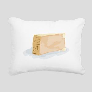 Wedge of Parm Rectangular Canvas Pillow