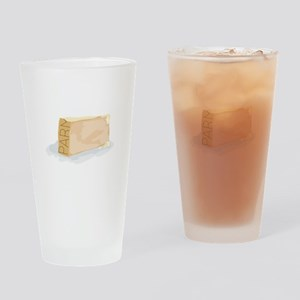 Wedge of Parm Drinking Glass