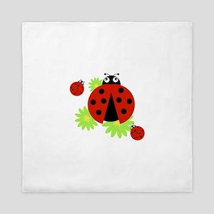 Ladybugs Queen Duvet