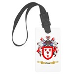 Glass Large Luggage Tag