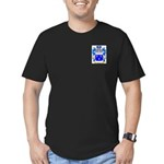 Glasier Men's Fitted T-Shirt (dark)