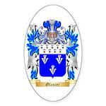 Glasier Sticker (Oval 50 pk)