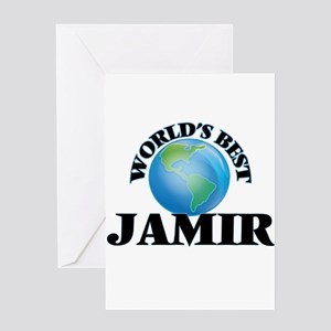 World's Best Jamir Greeting Cards