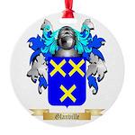 Glanville Round Ornament