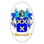 Glanville Sticker (Oval 50 pk)