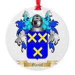 Glanvil Round Ornament