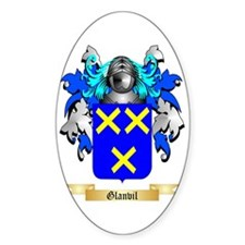 Glanvil Sticker (Oval)