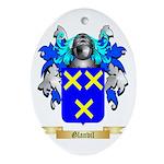 Glanvil Ornament (Oval)