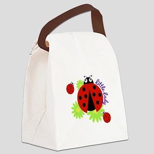 Little Lady Canvas Lunch Bag