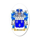 Glaisyer 20x12 Oval Wall Decal