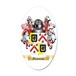 Gladstone Oval Car Magnet