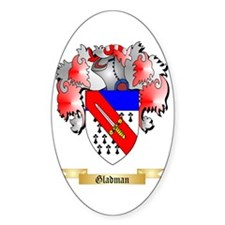 Gladman Sticker (Oval)