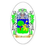 Giuri Sticker (Oval 50 pk)