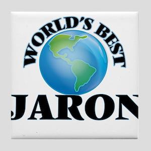 World's Best Jaron Tile Coaster