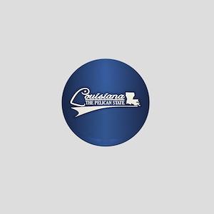 Louisiana State of Mine Mini Button
