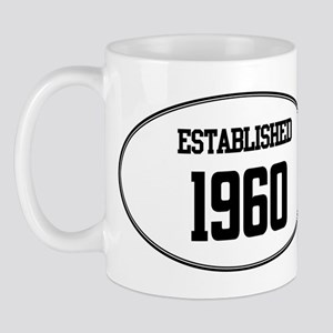 Established 1960 Mug