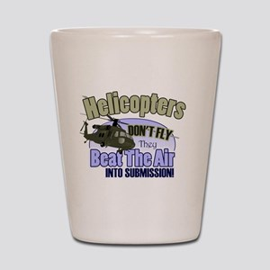 Helicopters Don't Fly Shot Glass