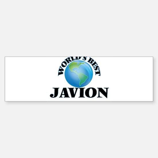 World's Best Javion Bumper Bumper Bumper Sticker
