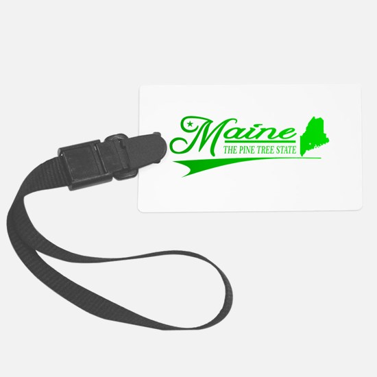 Maine State of Mine Luggage Tag