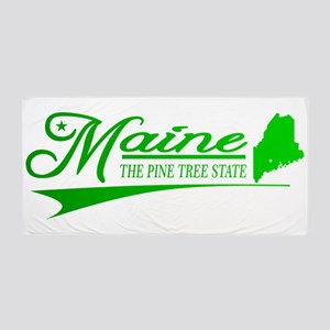Maine State of Mine Beach Towel
