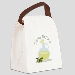 Cucina Italiana Canvas Lunch Bag