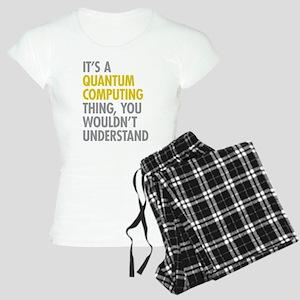 Quantum Computing Thing Women's Light Pajamas