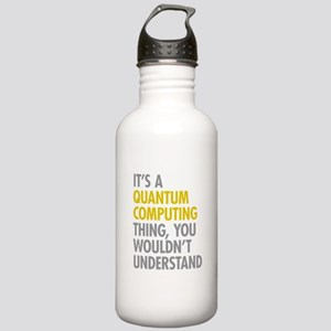 Quantum Computing Thin Stainless Water Bottle 1.0L