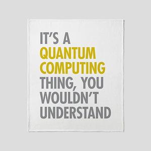 Quantum Computing Thing Throw Blanket