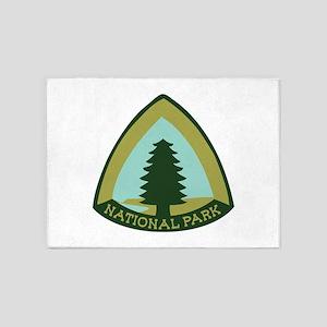National Park 5'x7'Area Rug