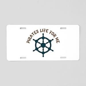 Pirates Life Aluminum License Plate