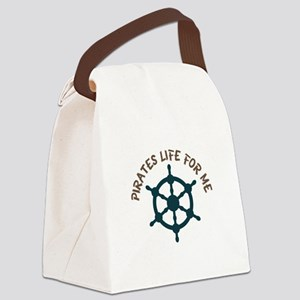 Pirates Life Canvas Lunch Bag