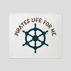 Pirates Life Throw Blanket