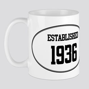 Established 1936 Mug